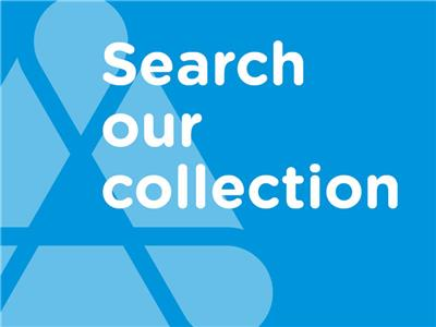 Library collecton search tile