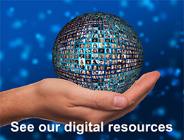 Digital resources tile