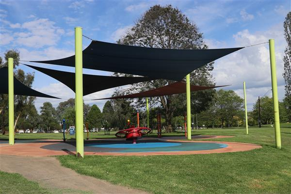 Curtis Park Playground shade sails