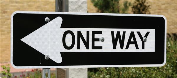One-way for West Avenue