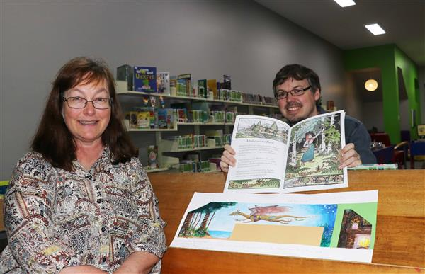 Fantastic new addition takes flight at library