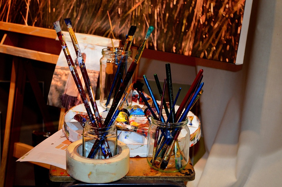 Paint brushes and equipment