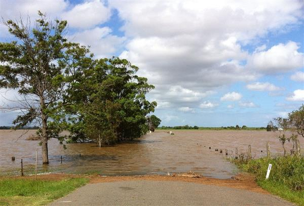 Flood Affected Land