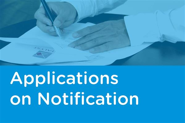 Applications on Notification