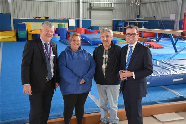 Armidale City Gymnastic Club receives Stronger Communities Funding