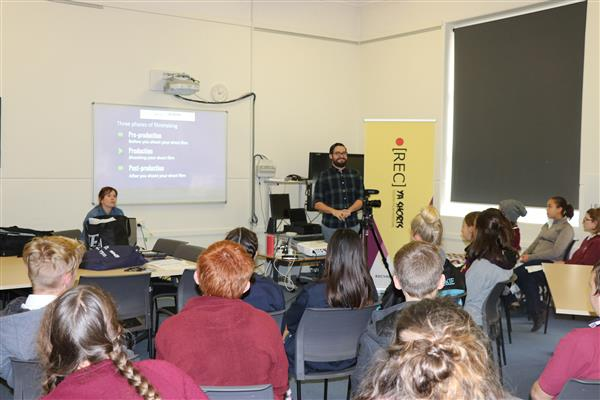 REC Ya Shorts workshop at AHS optimised