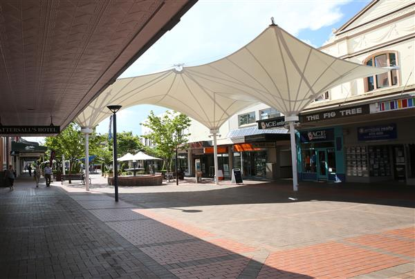Shade sails in Armidale Mall reach end of life