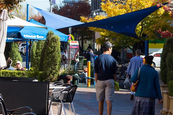 Armidale Mall the focus of an outdoor dining trial