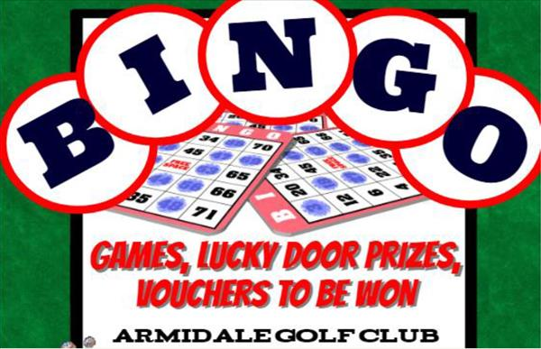 Armidale Golf Club Bingo