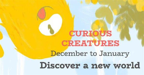 Curious Creatures banner cropped